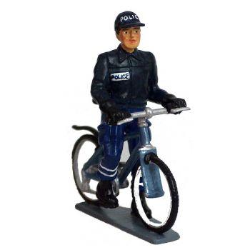 Policier à VTT