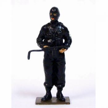 Policier du RAID en cagoule