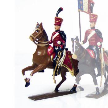 officier du 6e régiment de hussards (1808)