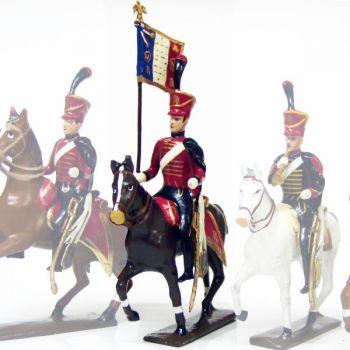 etendard du 6e régiment de hussards (1808)