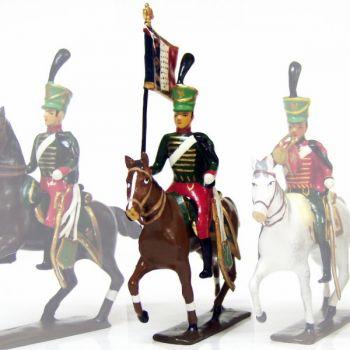 etendard du 7e régiment de hussards (1808)