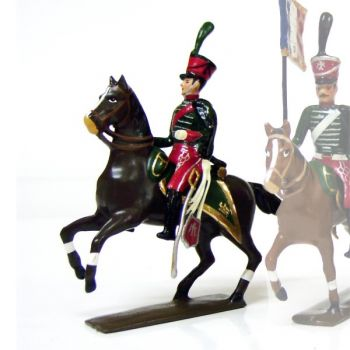 officier du 8e régiment de hussards (1808)