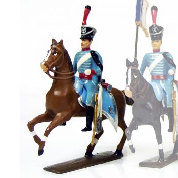 officier du 10e régiment de hussards (1808)