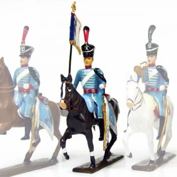 etendard du 10e régiment de hussards (1808)
