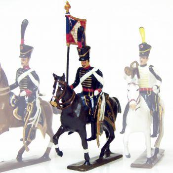 etendard du 11e régiment de hussards (1808)
