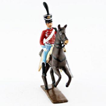officier du 12e régiment de hussards (1808)