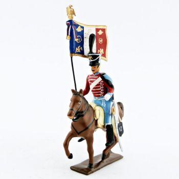 etendard du 12e régiment de hussards (1808)