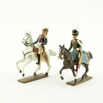 général de Beauharnais et son aide de camp