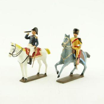 maréchal Bernadotte et son aide de camp