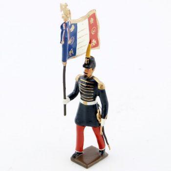 drapeau des voltigeurs de la garde imperiale (n. iii)