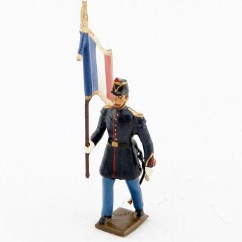 drapeau des douaniers (IIIe république)