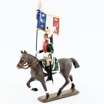 etendard du 5e régiment de dragons