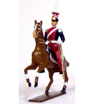 officier du 1er regiment de lanciers (polonais) (1812)