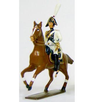 officier de la garde impériale de strasbourg à cheval (1805)