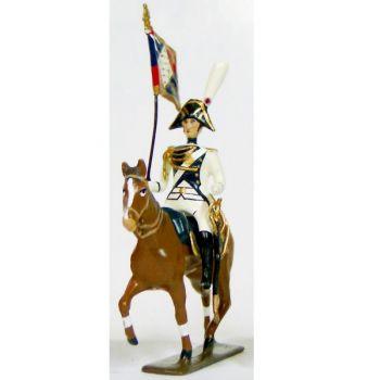 etendard de la garde impériale de strasbourg à cheval (1805)