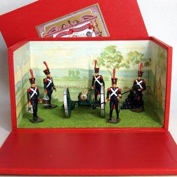 """diorama """"les Artilleurs de la Ligne"""""""