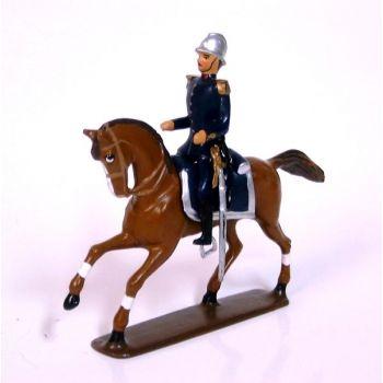 officier à cheval