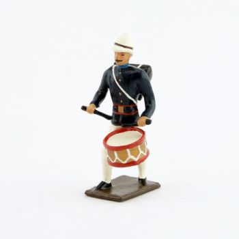 tambour de l'infanterie coloniale (1880)