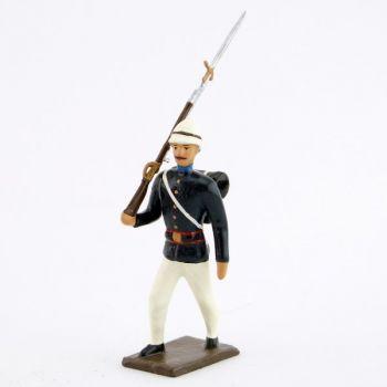 fantassin de l'infanterie coloniale (1880)