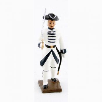 officier du régiment de touraine (1740)