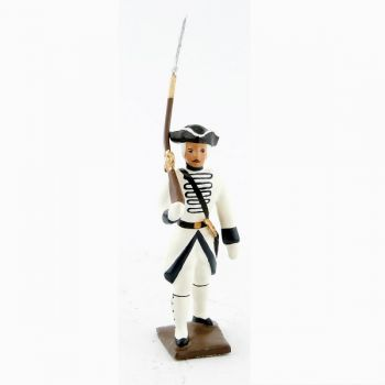 fantassin du régiment de touraine (1740)