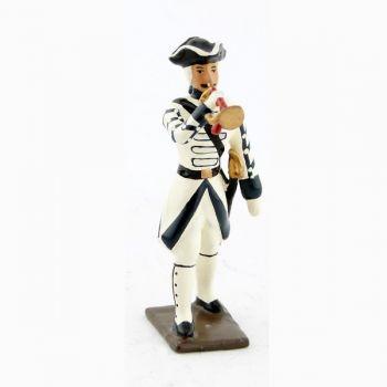 clairon du régiment de touraine (1740)