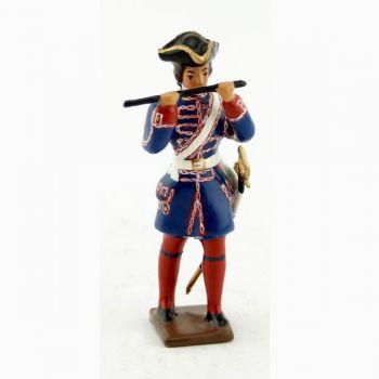 fifre des compagnies franches de la marine (1750)