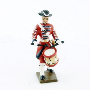 tambour des grenadiers de la garde suisse louis xv (1740)