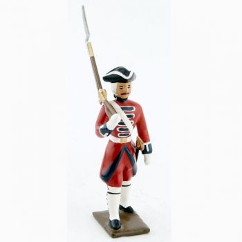 fantassin des grenadiers de la garde suisse louis xv (1740)