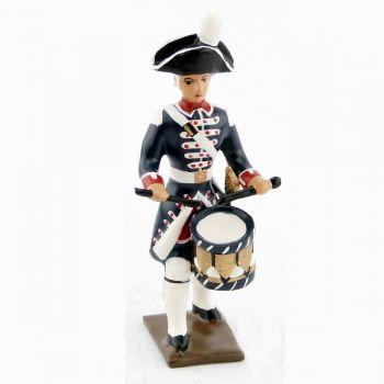 tambour des fusiliers de la garde française louis xvi (bicornes) (1789)