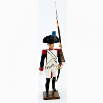 fantassin de la garde nationale louis xvi (1789)