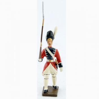 fantassin des grenadiers de la garde suisse - louis xvi (1789)