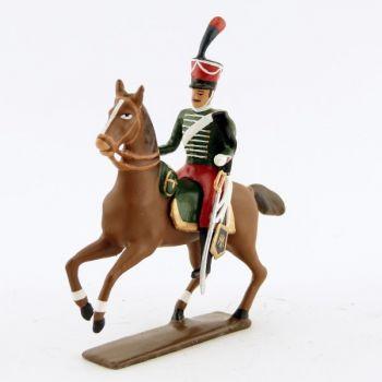 officier de la garde d'honneur à cheval (1813)