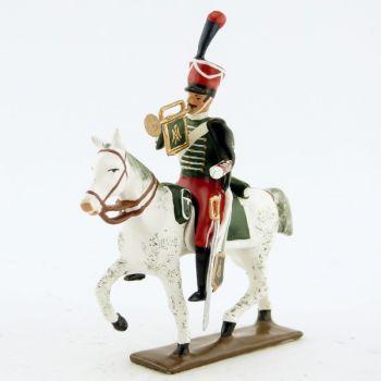 trompette (d'ordonnance) de la garde d'honneur à cheval (1813)