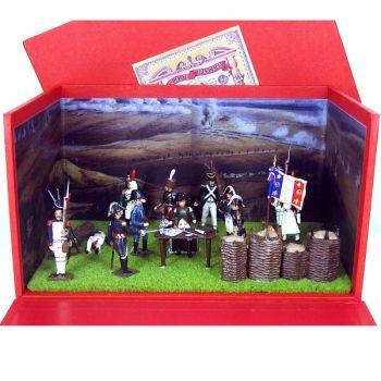 "diorama ""La Veillée d'Austerlitz"" (12 Figurines + 9 accessoires)"