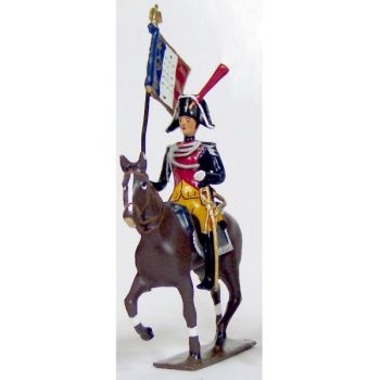 etendard de la gendarmerie imperiale a cheval (1803)