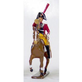 trompette (d'ordonnance) de la gendarmerie imperiale a cheval (1803)