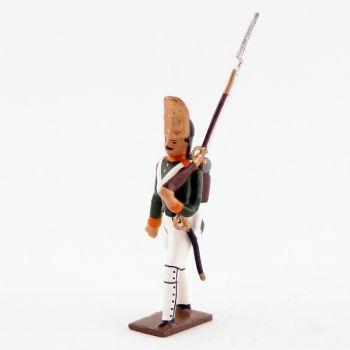 """fantassin des grenadiers russes (régiment """"pavlowski"""") (1812)"""