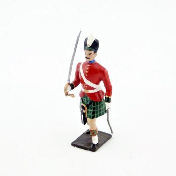 officier des highlanders