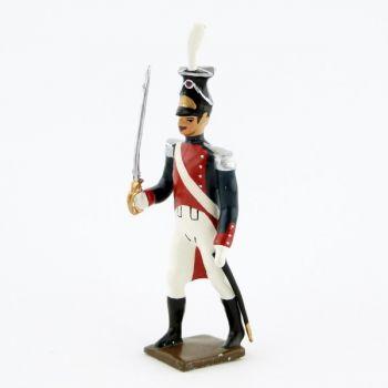 officier des grenadiers polonais, légion du nord (1806)