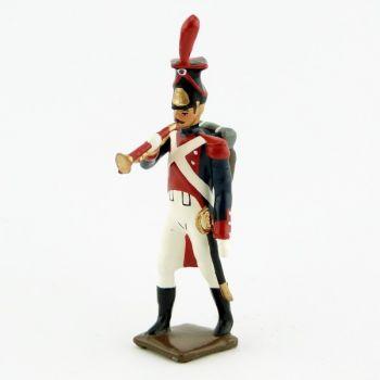 clairon (d'ordonnance) des grenadiers polonais, légion du nord (1806)