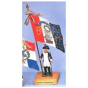 drapeau du District des Blancs-Manteaux