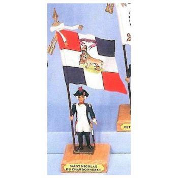 drapeau du bataillon de Saint Nicolas du Chardonneret