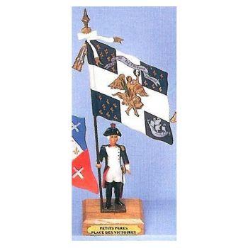 drapeau du bataillon des Petits Peres de la Place des Victoires