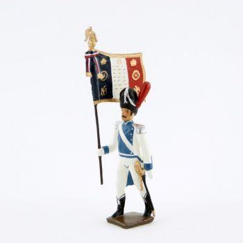 drapeau des grenadiers de Clèves et de Berg (1812)