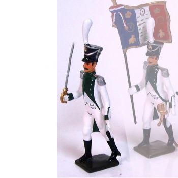 officier du régiment de Joseph Napoléon