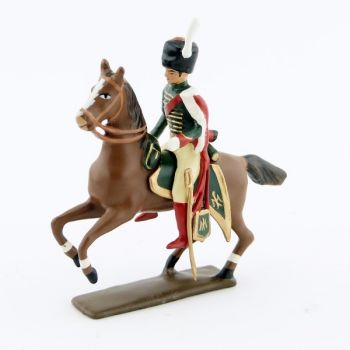 officier des chasseurs de la garde à cheval (1809)