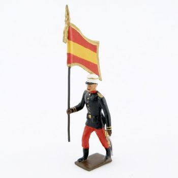 drapeau du régiment espagnol 1880
