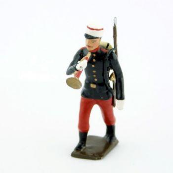 clairon du régiment espagnol 1880