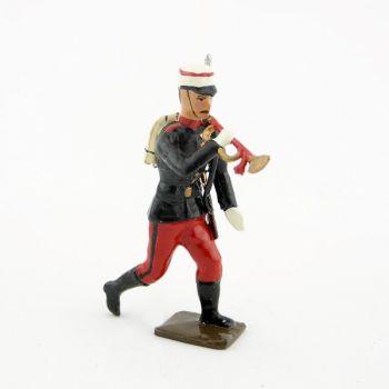 clairon du régiment espagnol à l'assaut 1880